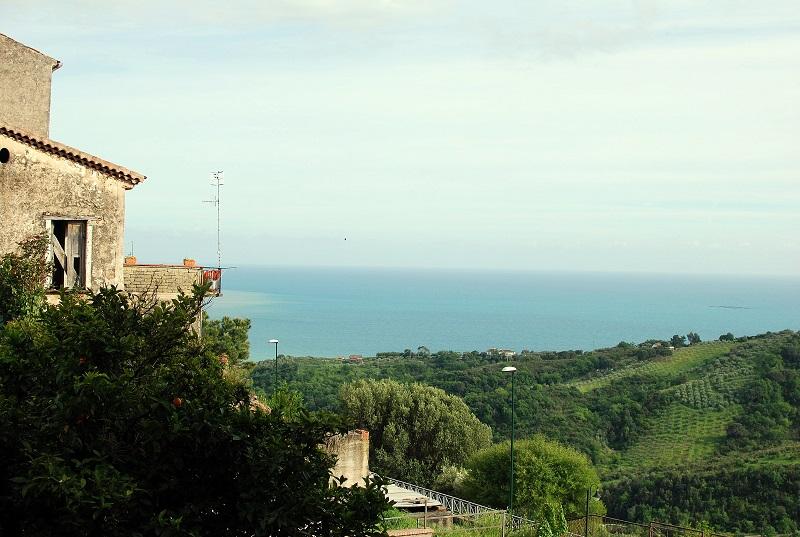 Vista da Casalvelino Paese (SA)
