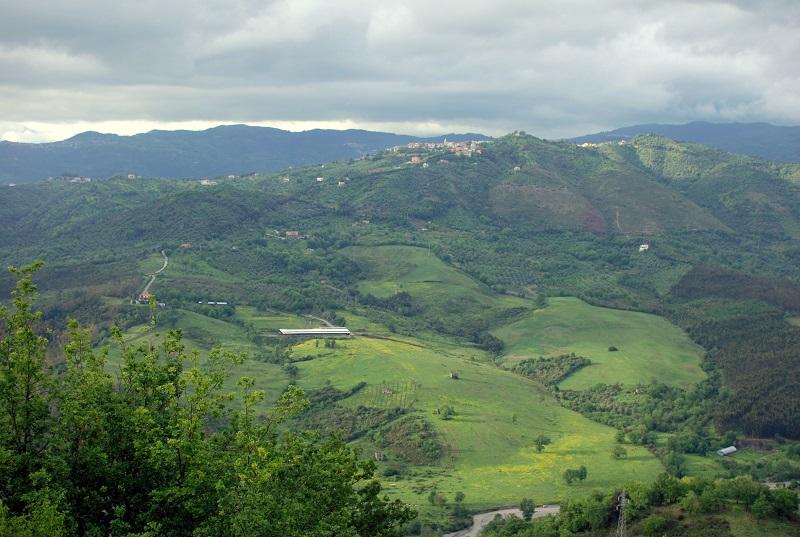 Vista da Castelnuovo Cilento (SA)