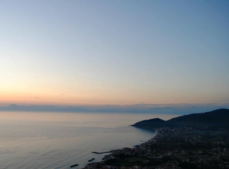 Castellabate_Cilento_tramonto_vista